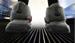 Robot Slippers with Sound
