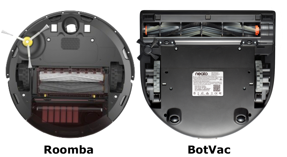 Roomba 980 vs. Botvac Connected Brush Comparison