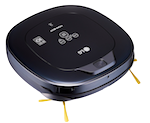 LG Hom-Bot Square Robotic Vacuum with Mop quietly cleans every corner of your home